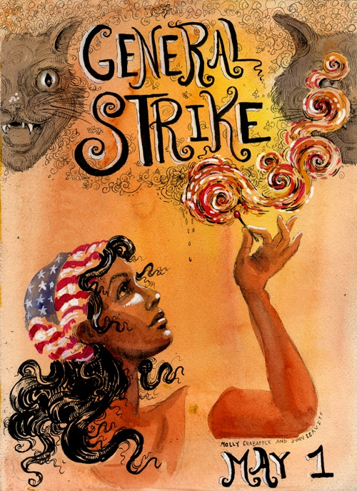 molly crabapple general strike